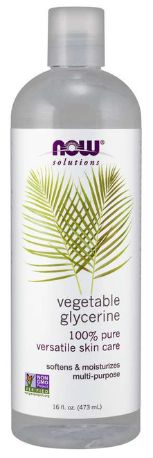 NOW® Solutions 100% Pure Vegetable Glycerin - 16 fl. oz.