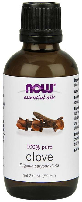 NOW® Essential Clove Oil - 2 fl. oz.