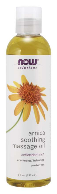 NOW® Solutions Arnica Soothing Massage Oil - 8 fl. oz.