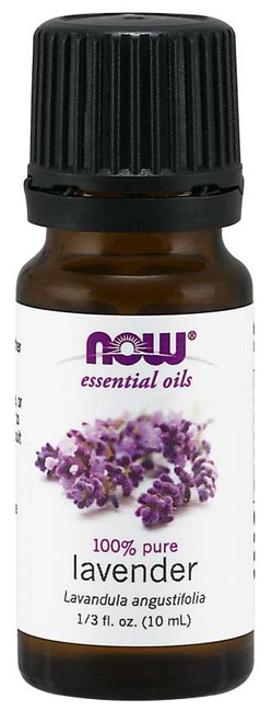 NOW® Essential Lavender Oil - 1/3 fl. oz.