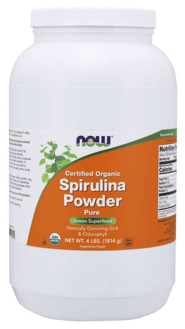 Spirulina Powder, Organic - 4 lbs.