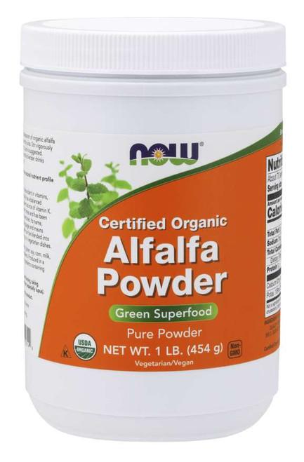 Alfalfa Powder, Organic - 1 lb.