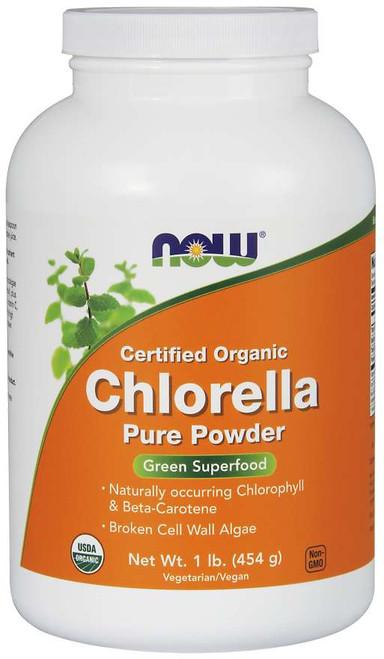 Chlorella Powder, Organic - 1 lb.