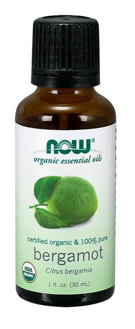 NOW® Essential Bergamot Oil, Organic - 1 fl. oz.
