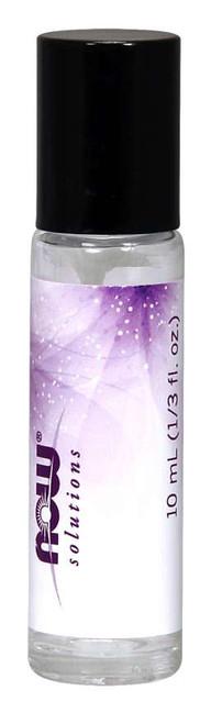 Clear Glass Bottle Roll-On Applicator, Six 10 mL Empty
