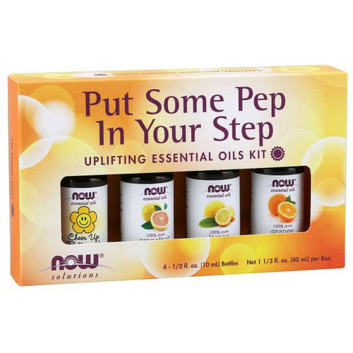 Put Some Pep in Your Step Essential Oil Kit