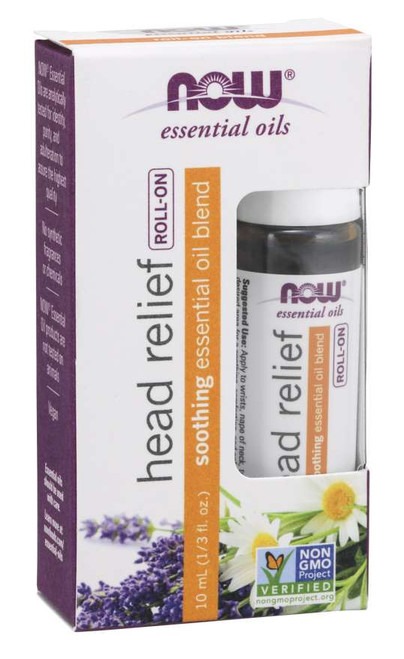 Head Relief Essential Oil Blend Roll-On - 10 mL
