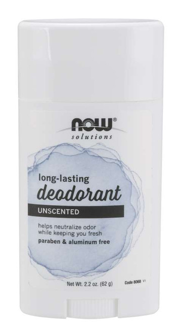 Long-Lasting Deodorant Stick, Unscented - 2.2 oz.