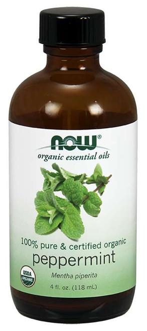 Peppermint Oil, Certified Organic - 4 oz.