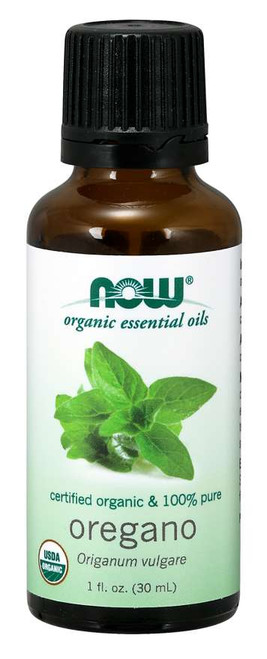 NOW® Oregano Essential Oil, Organic - 1 fl. oz.