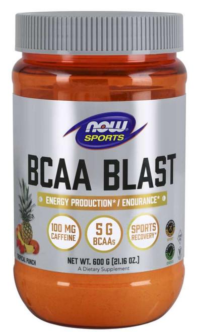 BCAA Blast Powder, Tropical Punch Flavor - 600 Grams