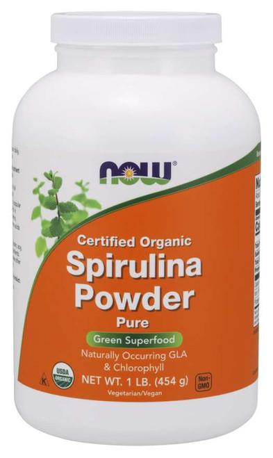 Spirulina Powder, Organic - 1 lb.
