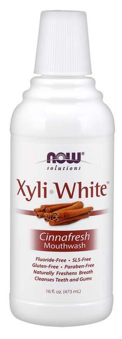 NOW® Solutions Xyliwhite™ Cinnafresh Mouthwash - 16 oz.
