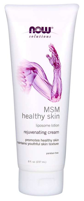 NOW® Solutions MSM Healthy Skin Liposome Lotion - 8 fl. oz.