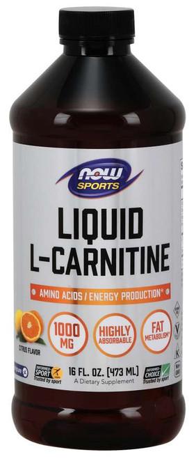 L-Carnitine Liquid 1000 mg, Citrus - 16 fl. oz.