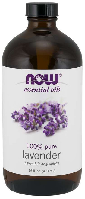 NOW® Essential Lavender Oil - 16 fl. oz.