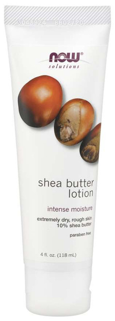 NOW® Solutions Shea Butter Lotion - 4oz
