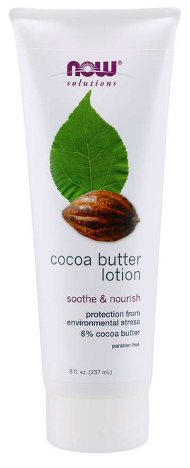 NOW® Solutions Cocoa Butter Lotion - 8 fl. oz.