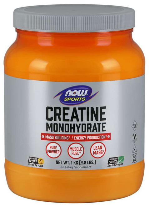 Creatine Monohydrate Powder - 2.2 lbs.