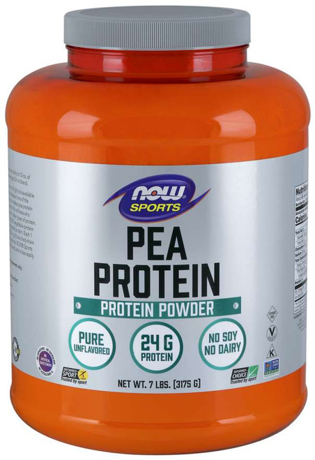 Pea Protein, Pure Unflavored Powder - 7 lbs.