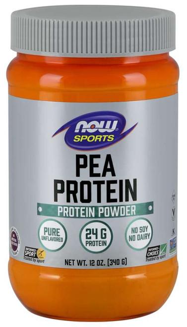 Pea Protein, Pure Unflavored Powder - 12 oz.