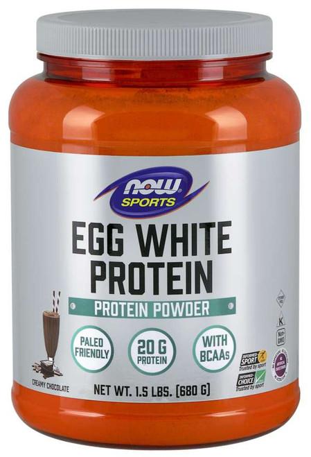 Egg White Protein, Creamy Chocolate Powder - 1.5 lbs.