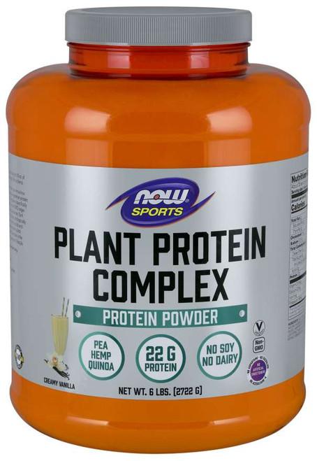 Plant Protein Complex, Creamy Vanilla Powder - 6 lbs.