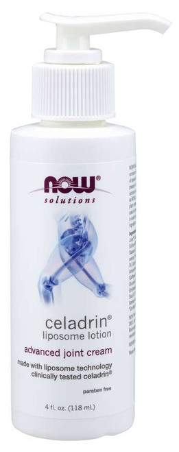 NOW® Solutions Celadrin® Liposome Lotion - 4 fl. oz.