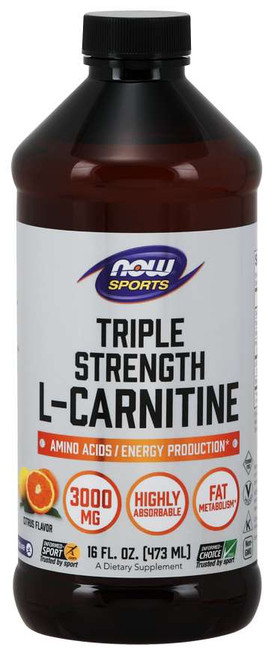 L-Carnitine, Triple Strength Liquid - 16 fl. oz.