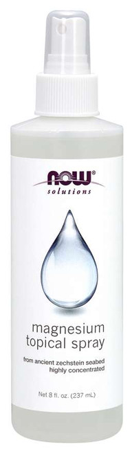 NOW® Solutions Magnesium Topical Spray - 8 fl. oz.