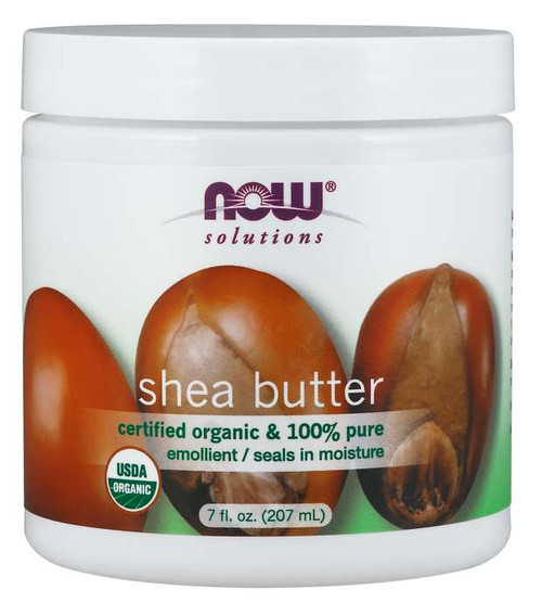NOW® Solutions Shea Butter, Organic - 7 fl. oz.
