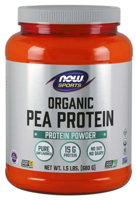 Pea Protein, Organic Powder - 1.5 lbs.