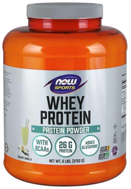 Whey Protein, Creamy Vanilla Powder - 6 lbs.