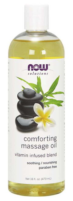 Vitamin Infused Blend Soothing/Nourishing Oils for both relaxation and skin rejuvenation.
