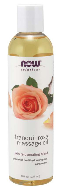 NOW® Solutions Tranquil Rose Massage Oil - 8 fl. oz.