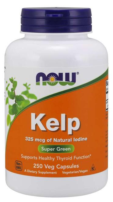 NOW Kelp 325 mcg - 250 Veg Capsules