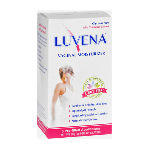 Luvena Vaginal Moisturizer And Lubricant - Box Of 6 - 5 Grams