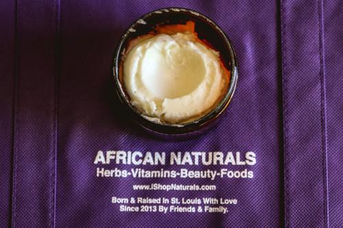 100% Natural Argan Body Butter For Hair & Skin 8oz. Remarkably Nourishing, Moisturizing & Promoting Skin Elasticity.