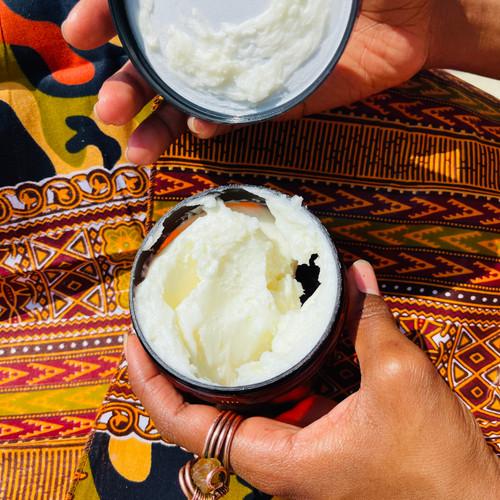 100% Naturals Baobab Body Butter For Skin & Hair