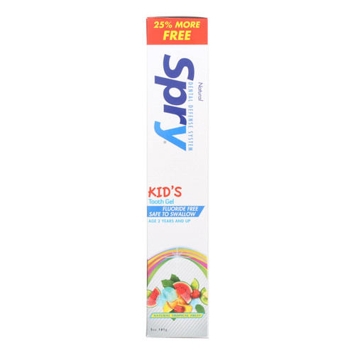 Spry Toothpaste - Kids - Tropical Fruit - 5 Oz