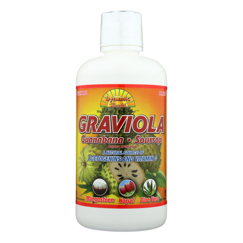 Dynamic Health Graviola Guanabana-soursop Extract Superfruit Juice Blend - 32 Oz