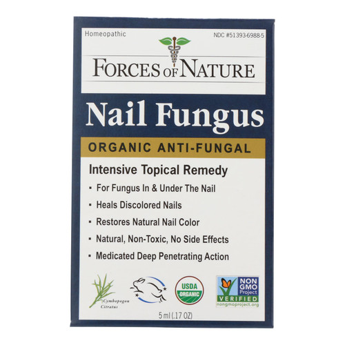 Forces Of Nature Nail Fungus Control  - 1 Each - 5 Ml