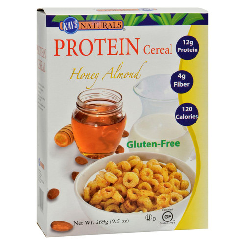 Kay's Naturals Better Balance Protein Cereal Honey Almond - 9.5 Oz - Case Of 6