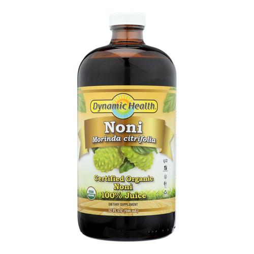 Dynamic Health Organic Certified Noni Juice - 32 Fl Oz