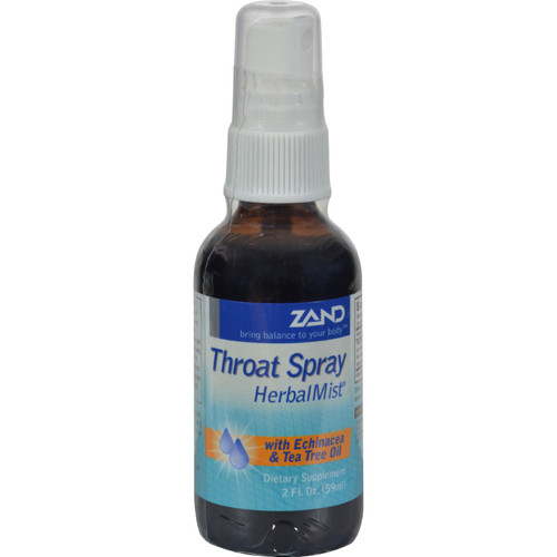 Zand Throat Spray Herbal Mist - 2 Fl Oz