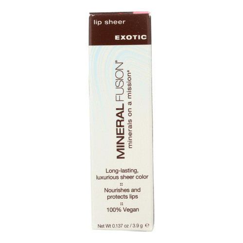 Mineral Fusion - Lip Sheer - Exotic - 0.137 Oz.