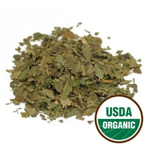 Organic Black Walnut Leaf C/S