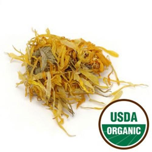 100% Organic Calendula Flowers Whole 4oz.