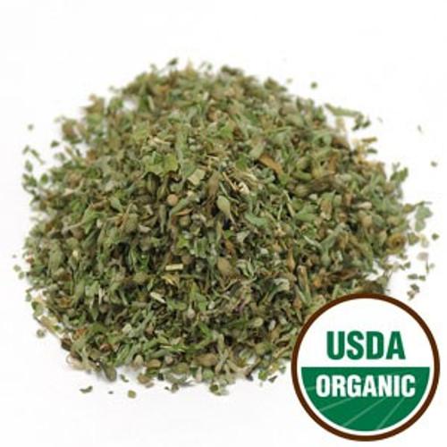 100% Organic Catnip Leaf (Botanical Name: Nepeta cataria) 4oz