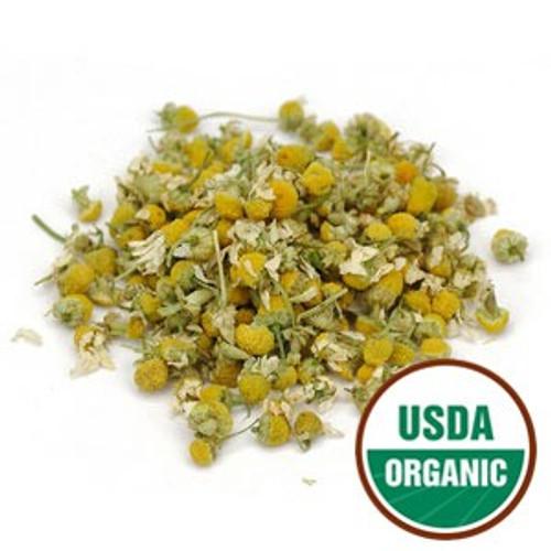 100% Organic Chamomile Flower Whole 4oz